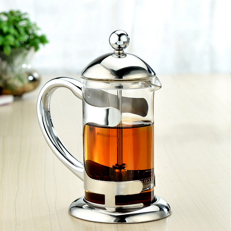 Genuine aston pot glass teapot stainless steel tea filter tea teapot teapot tea filter chongcha filter pressure