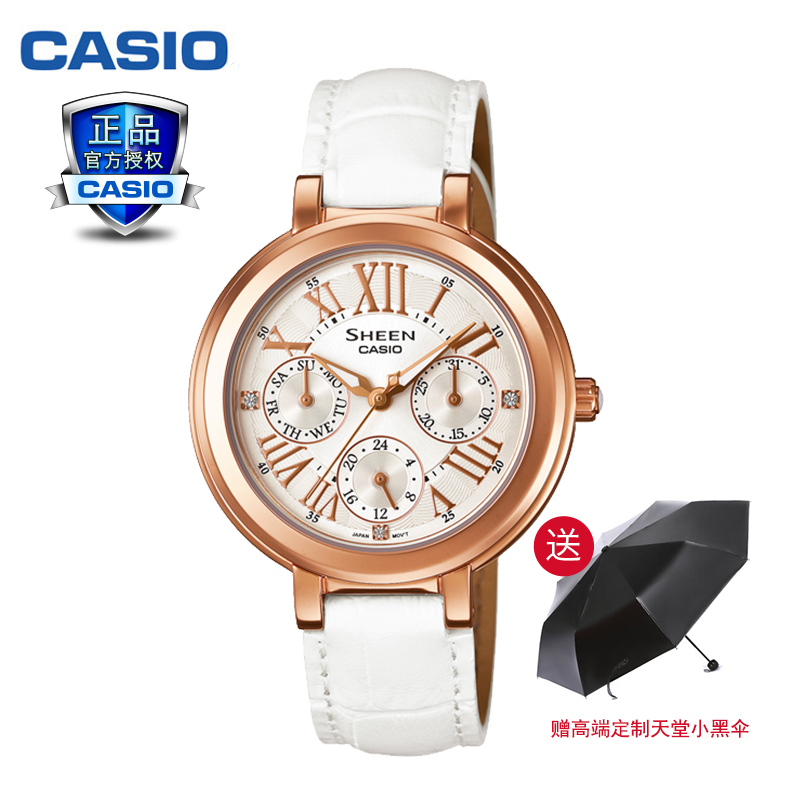 Genuine casio casio sheen series of fashion female form quartz watch fashion watches female form SHE-3034