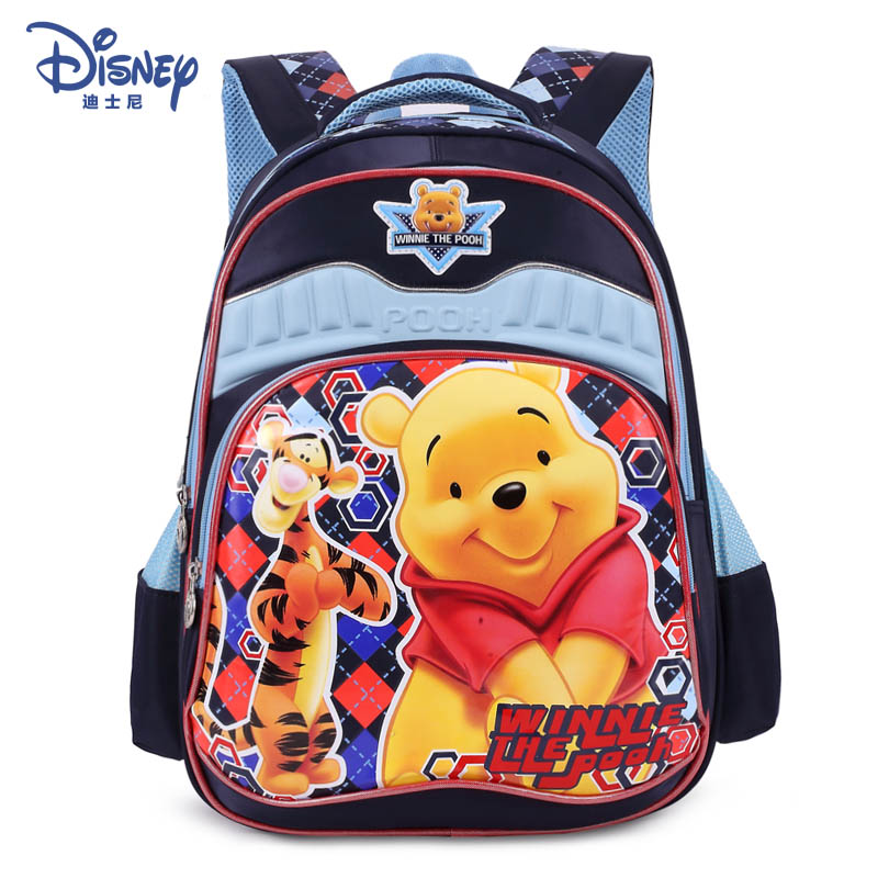 cf4601c75fb Get Quotations · Genuine disney winnie the pooh children s cartoon  schoolbag schoolbag men and women schoolbag children shoulder bag