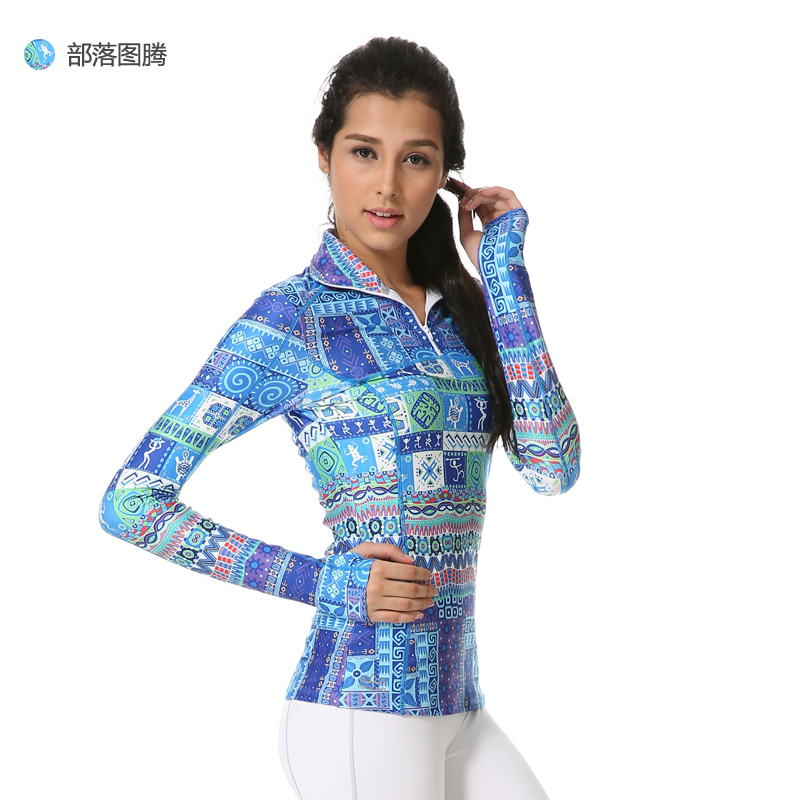 Genuine eukanuba lotus yoga clothes 2015 new winter high fashion running sports and health body suit coat vjw005