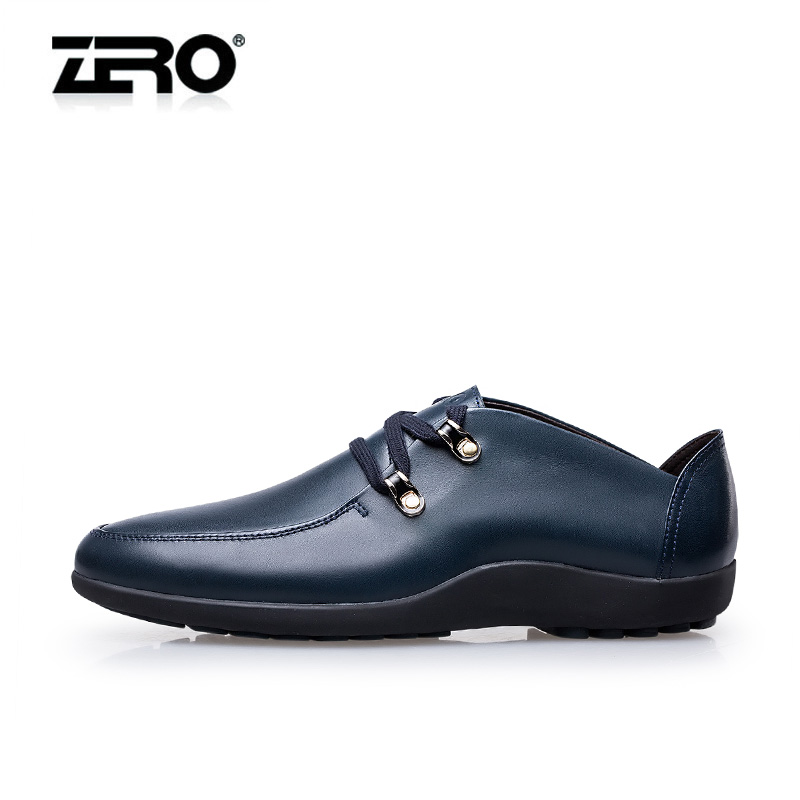Genuine free shipping zero zero summer men's first layer of soft leather breathable and comfortable business casual shoes