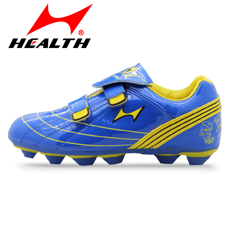 Genuine hales beautiful color soccer training shoes plastic nail soccer shoes broken spikes male and female models for children shoes small yards