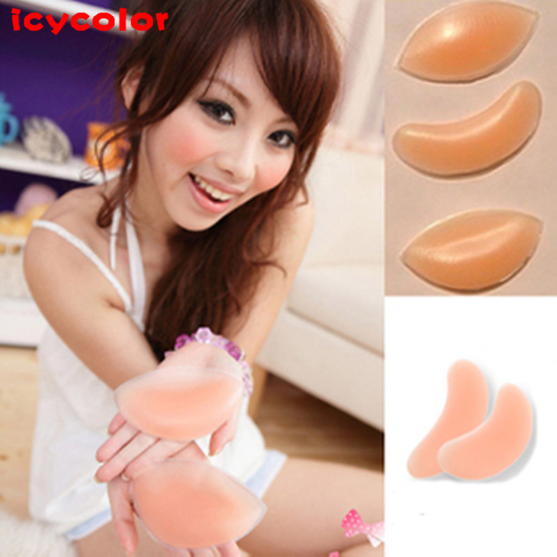 Genuine invisible bra/silicone inserts/bra inserts/thicker inserts/silicone chest pad/milk paste (one pair )