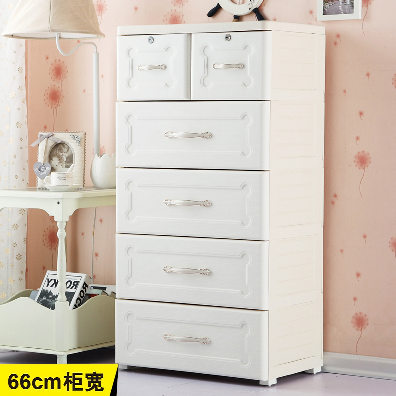 Genuine king fuqiang plastic drawer storage cabinets lockers continental clothing baby cabinet finishing cabinet storage cabinets lockers child