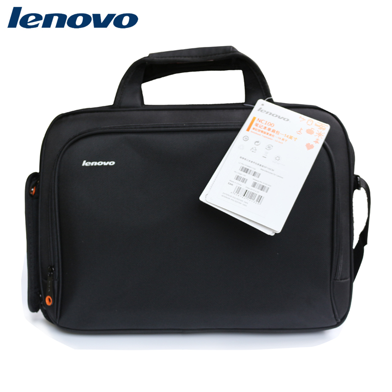 Genuine lenovo laptop bag 14 inch lenovo laptop bag 14.6 laptop shoulder bag men and women thicker shock
