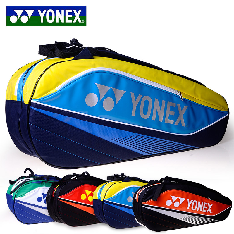 Genuine men and women shoulder bag 6 installed badminton bag yy/yonex/yonex 7526 tennis bag taiwan