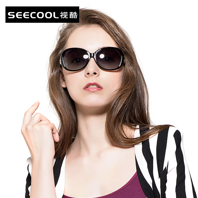 Genuine new elegant ladies sunglasses sunglasses fashion sunglasses retro sunglasses large frame sunglasses polarized sunglasses 2115