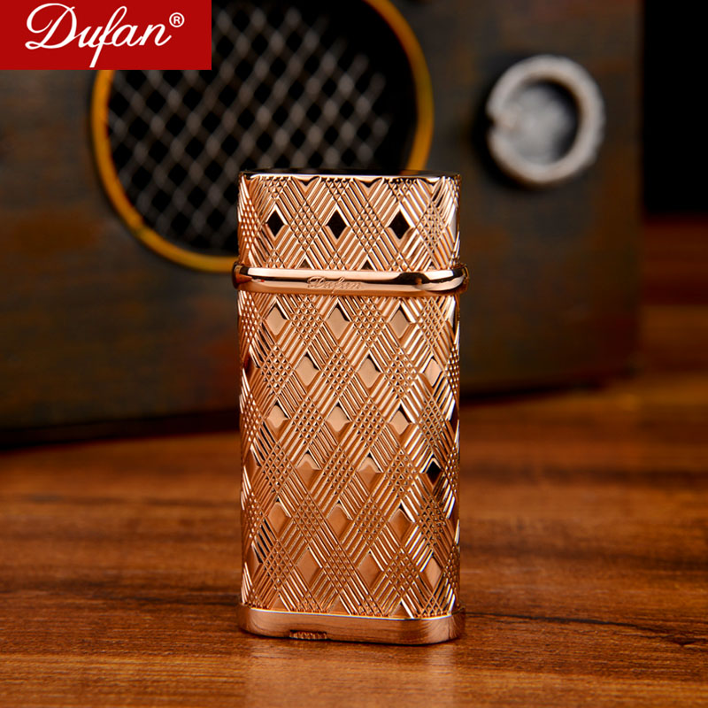 Genuine original dufan broke lighters genuine movement of copper vatican vatican narrow machines are filling gas lighter special offer free shipping