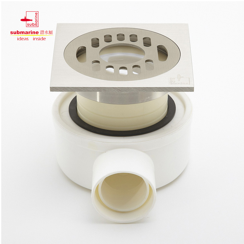 [Genuine security] CP3-LTF40-10 same layer side drainage system/wall drainage system with brushed floor drain