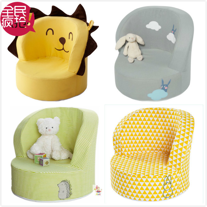 Genuine special cotton young folks environmental children's adorable baby infants and children washable sofa small sofa sofa shipping
