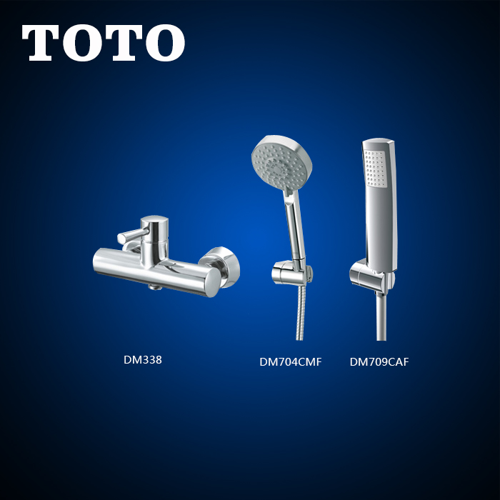 Genuine toto bathroom shower shower all copper chrome single handle tub shower bathtub faucet d m338 need to reprovision