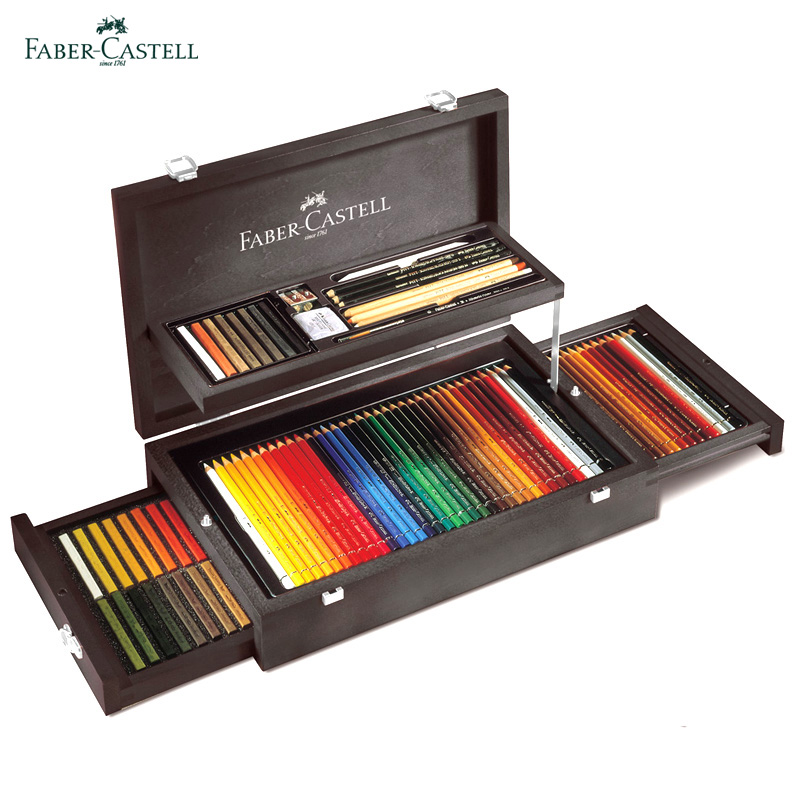 German faber toner charcoal suit oily color pencil painting wooden collection level 110086