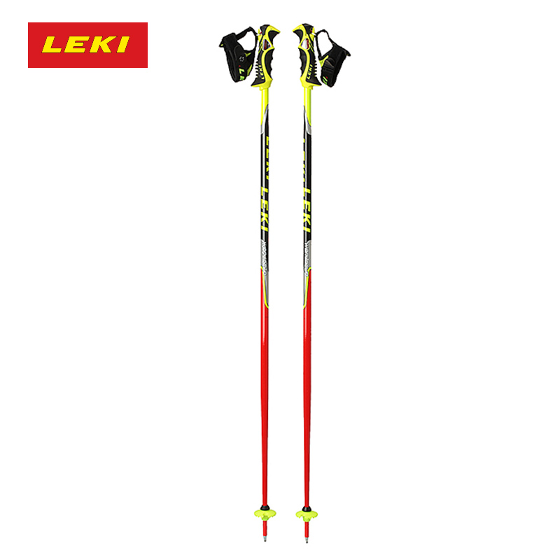 Germany leki trekking poles hiking walking stick world cup official authentic autumn and winter racing type snow trekking poles