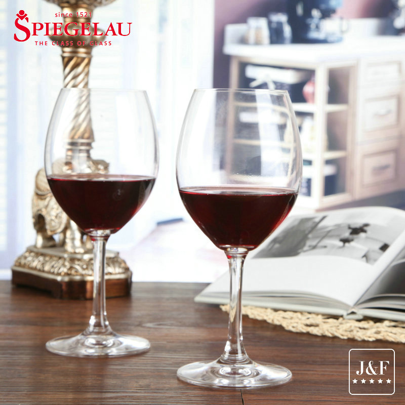 Germany spiegelau poetry cup waikoloa imported unleaded crystal wine glass red wine goblet glass of red grapes grape