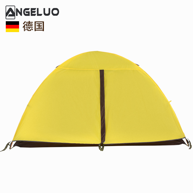 Germany un'goro professional hand on the outdoor double bunk ultralight waterproof windproof 1-2 people camping tent pole