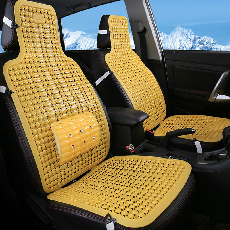 Gh plastic car seat ventilation cool summer cool and comfortable pressure massage car seat cushion car supplies