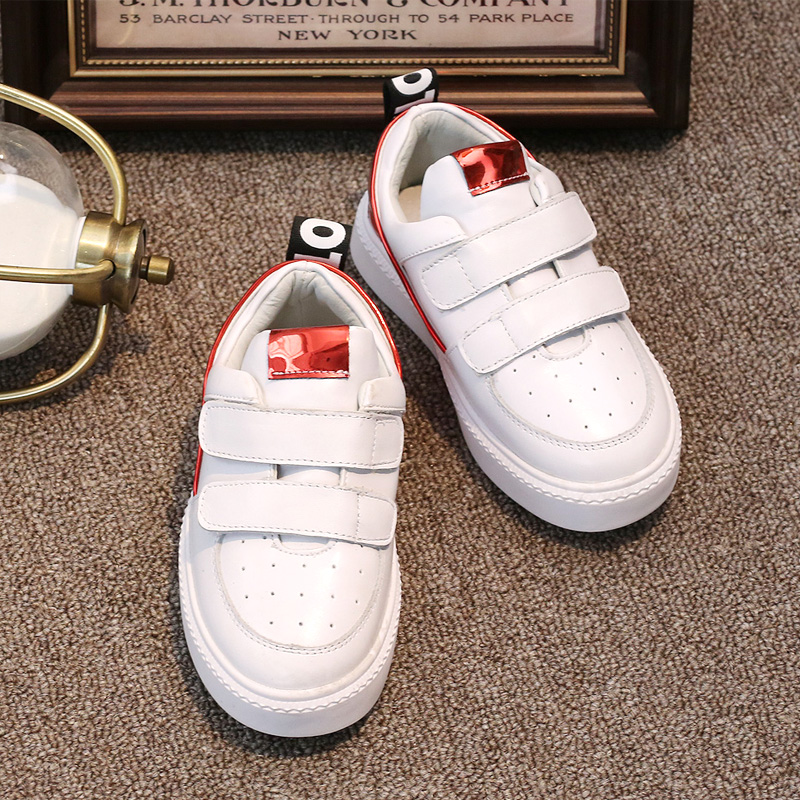 Girls leather shoes 2016 new fall shoes korean boy casual sports shoes fashion shoes tide shoes children shoes