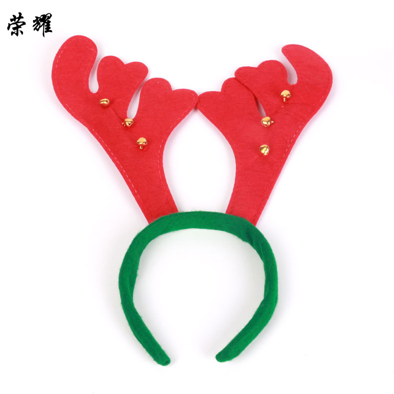Glory christmas antlers headband head buckle christmas decorations christmas holiday decorations christmas party props