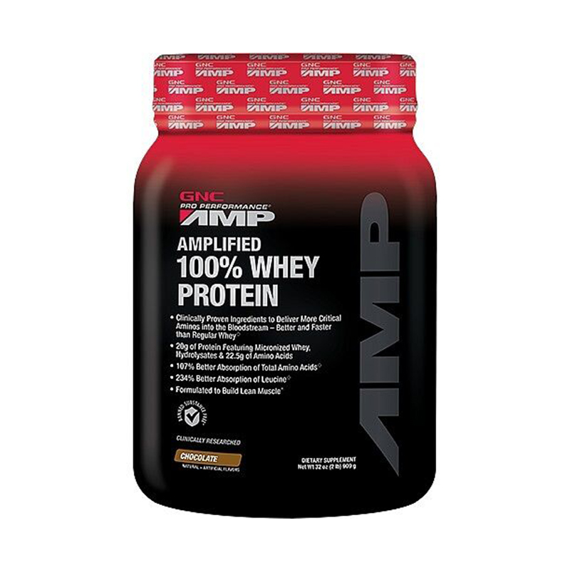 Gnc gnc amp professional enhanced to increase muscle fitness whey protein powder chocolate us direct mail