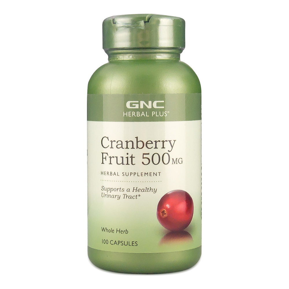 Gnc/gnc cranberry extract capsules 500 mg 100 125ç²prevent vaginal infection inflammation