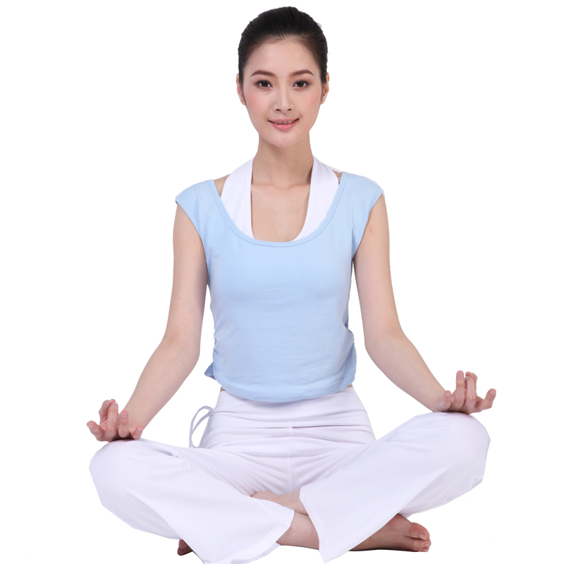Gold lala new spring and summer yoga clothes yoga clothes suit female fashion fitness even more clothes short sleeve yoga clothes yoga clothing three sets of shipping