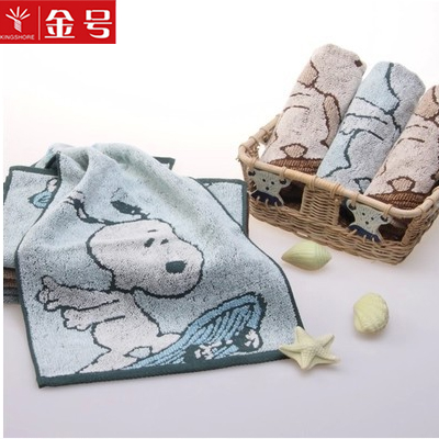 Gold miffy cotton towel small towel cotton towel infant baby birthday cake towel couple models