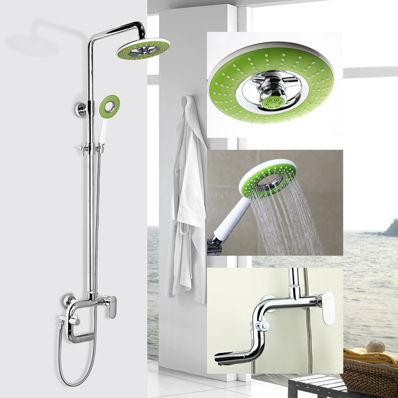 Gold mike bathroom shower with lift full suite shower bathroom shower faucet shower column