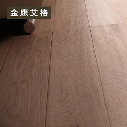 Golden eagle iger three layers of solid wood flooring wood flooring laminate flooring export grade green oak wood flooring 9120