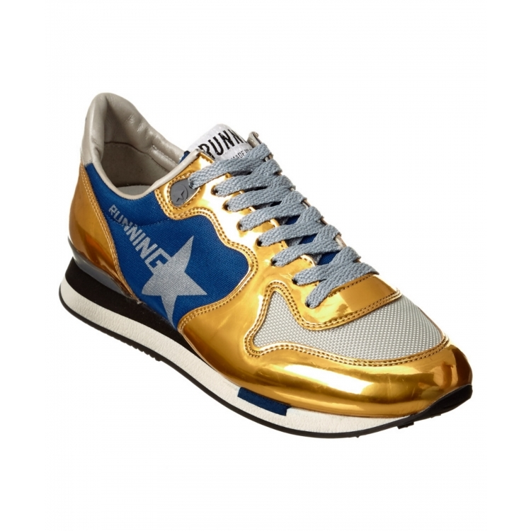 Golden goose women's shoes soled shoes Q02070799 metallic