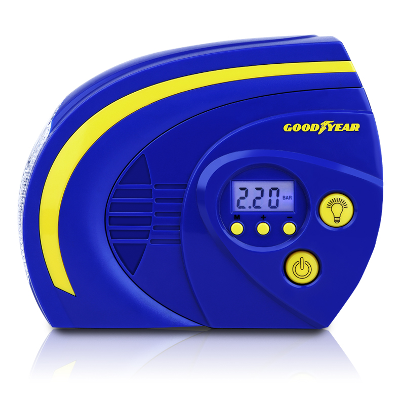 Goodyear car air pump significant number of smart preset tire inflator pump car playing pump car tire inflator inflator