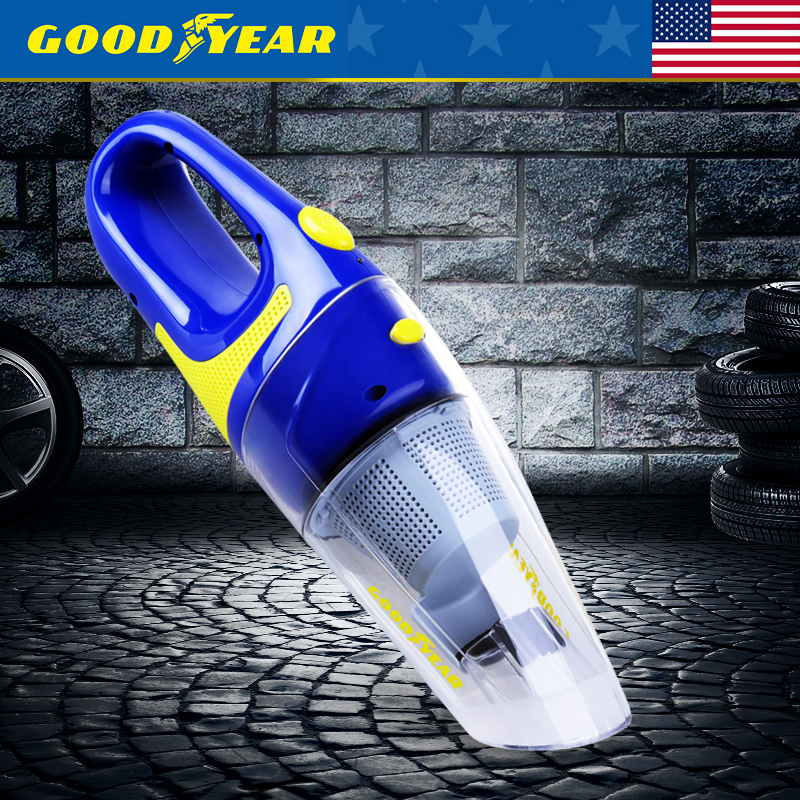 Goodyear car vacuum cleaner car vacuum cleaner wet and dry vacuum cleaner power car strong suction vacuum cleaner dust easily