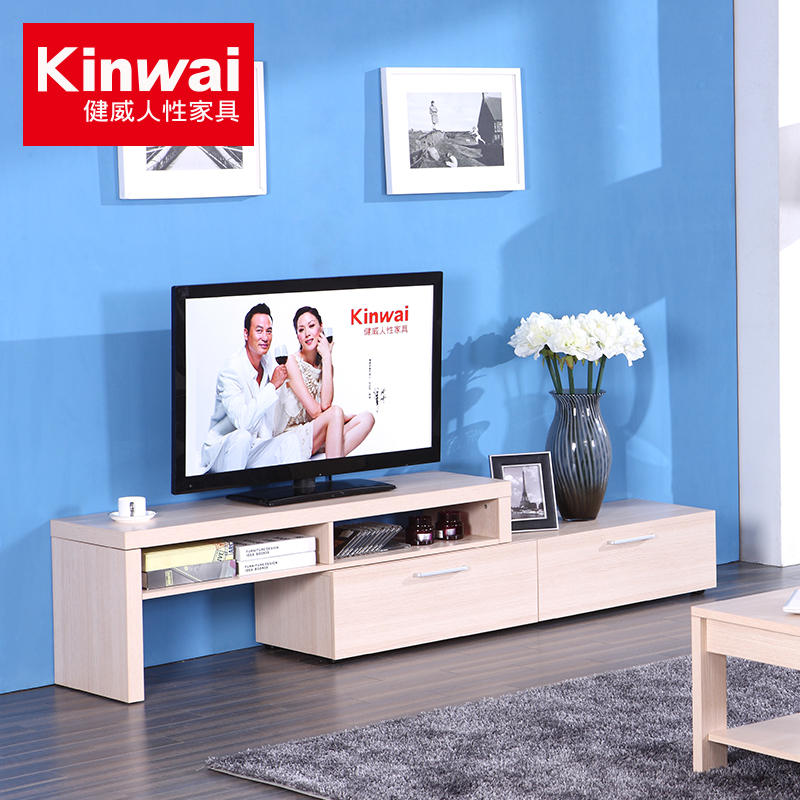 Granville retractable tv cabinet modern minimalist furniture coffee tables and cabinets living room coffee table combination package 101-21