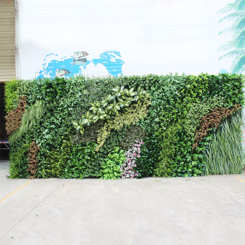 Grass greening plants simulation simulation of plant wall green wall indoor and outdoor wall decoration wall decoration