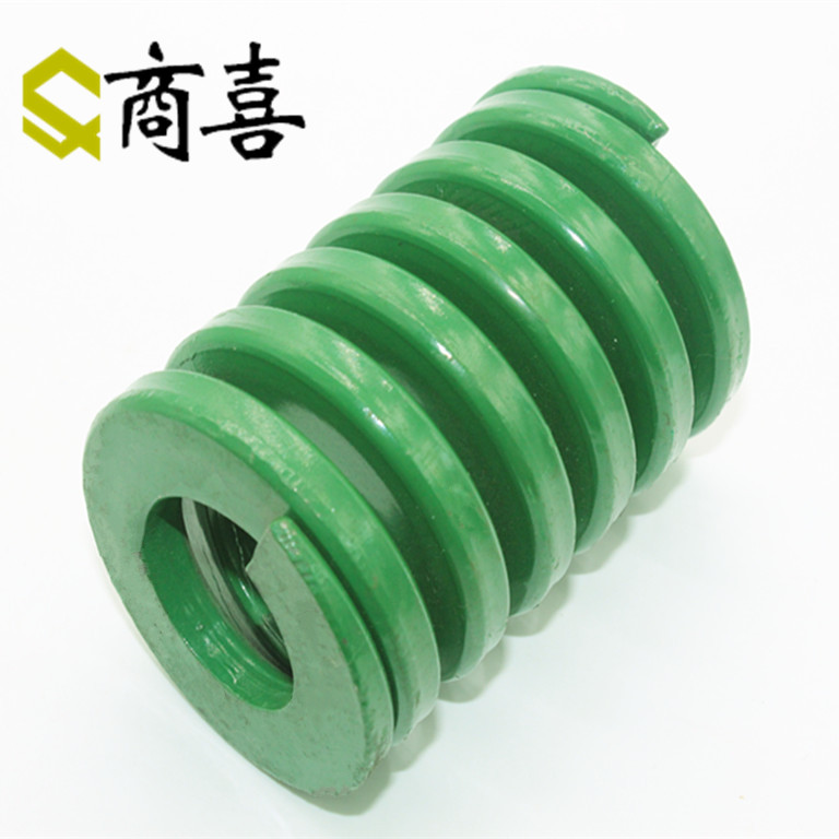 Green heavy duty die springs. rectangular compression spring th16 * 8*20 75 100 150 200 300
