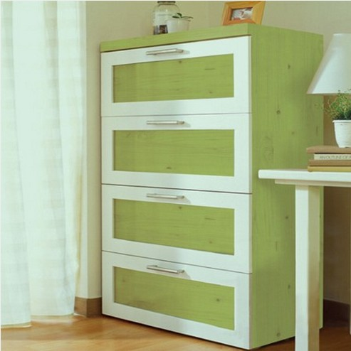Green korea environmentally friendly wood sub refurbished old furniture wardrobe cabinets paste stickers affixed waterproof stickers