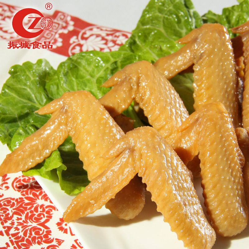 Guangdong hakka specialty meizhou city zhen salt baked chicken wings are also zero office casual snacks snacks