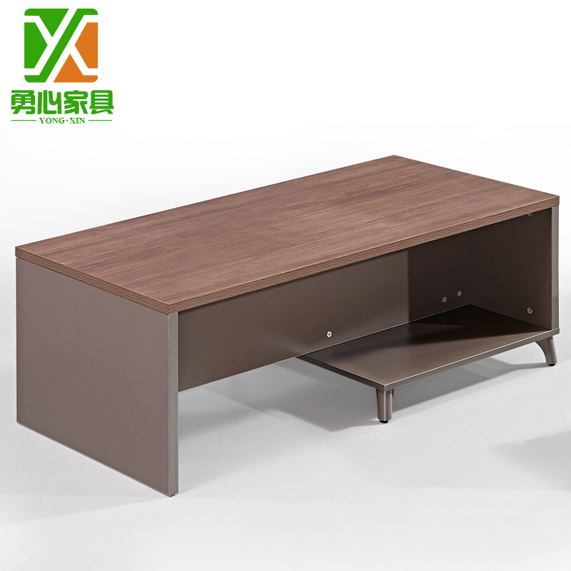 Guangzhou minimalist modern office business office coffee table rectangular living room coffee table plate tea table special offer