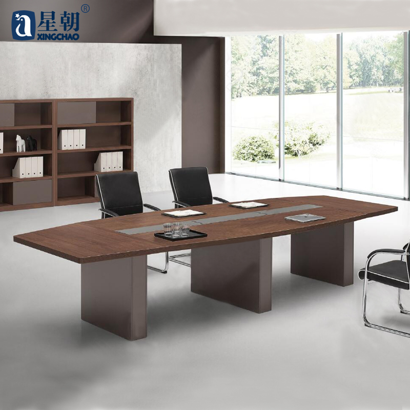 Guangzhou office furniture minimalist modern conference table long conference table bar table negotiating table meeting table conference table