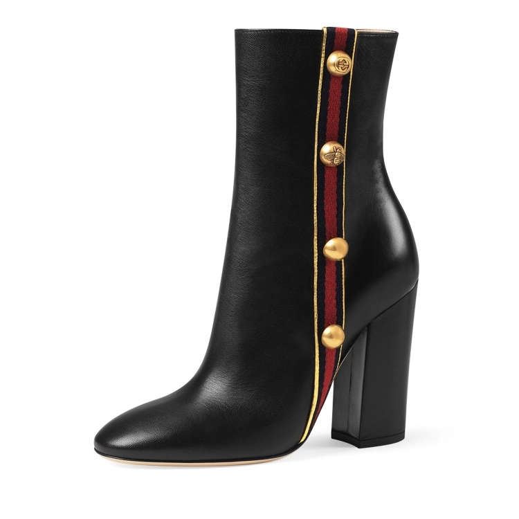 Gucci/gucci/gucci boots women ankle boots Q02051633 black