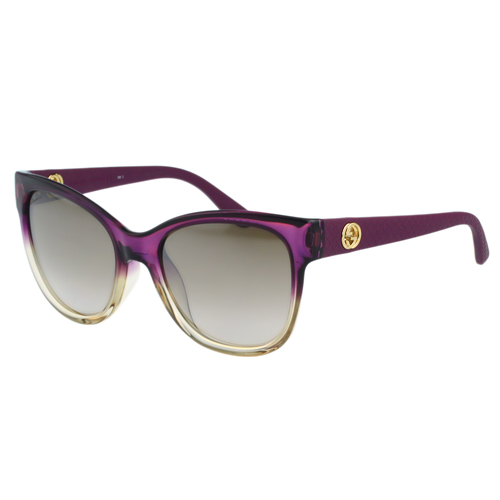 272b5fd66bd Get Quotations · Gucci-understated retro series sunglasses (gradient  purple) payeasy official website direct mail