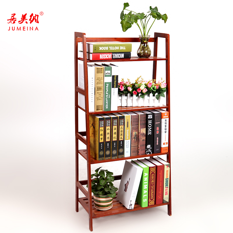 Habitat magna students simple wood bookcase shelving racks simple bamboo bookcase bookcase combination with burgundy fall specials