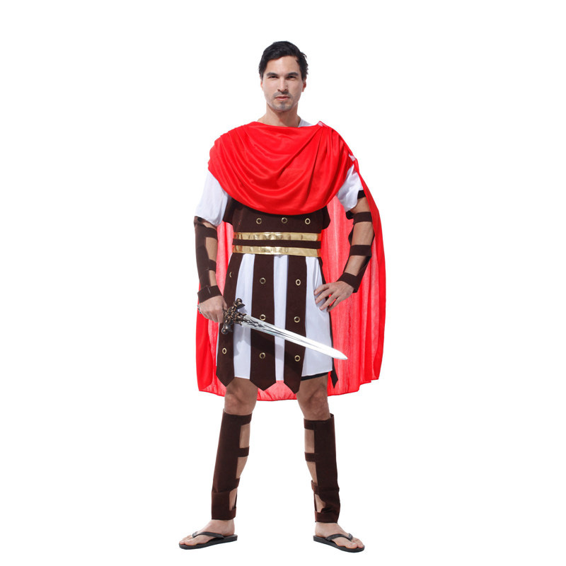 Halloween costume party cosplay costume play caesar roman warrior costume samurai warrior clothes adult male