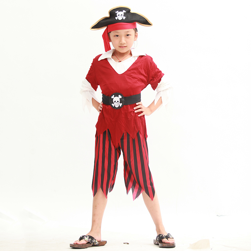 Halloween pirate costume pirate costumes pirate cosplay masquerade dress clothes for children of men and women costumes