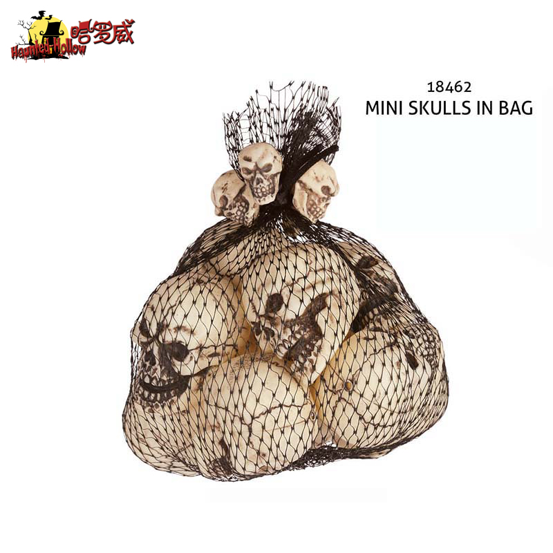 Halloween supplies decorative halloween haunted house props ktv bar supermarket play pranks occasional plastic small skull