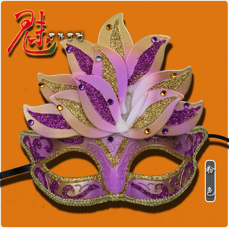 Halloween venetian masquerade party cos beautiful princess half face mask party mask