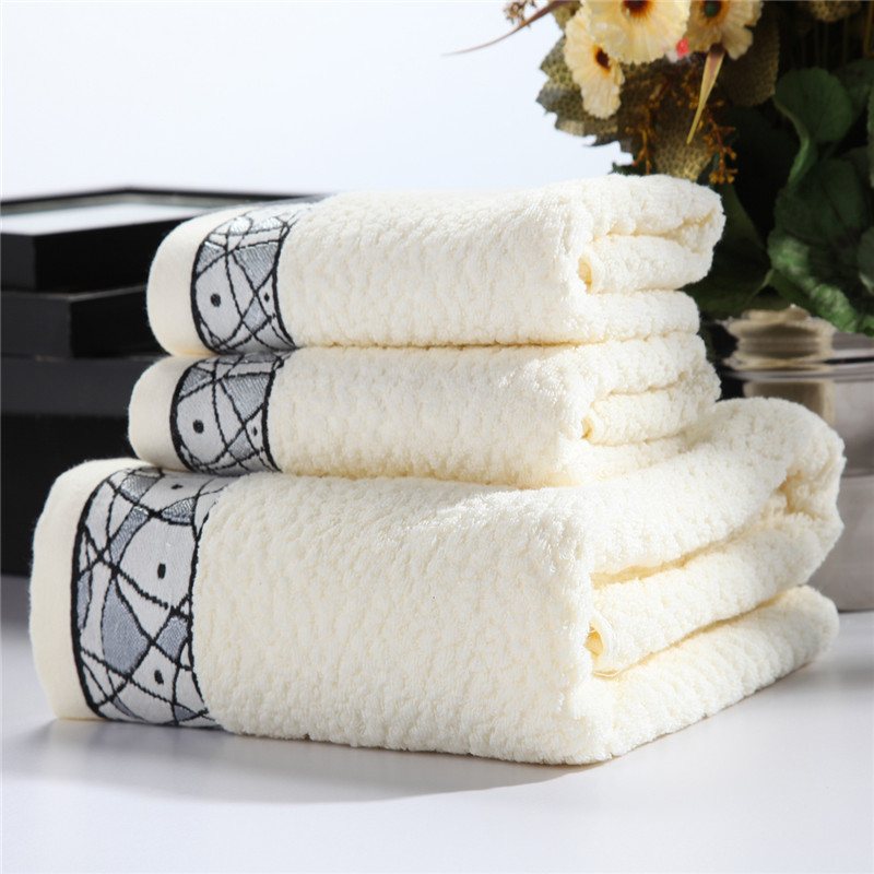 Hamid mir 1 three sets of cotton bath towel + 2 towel bath towel bath towel cotton towel adult men and women suit