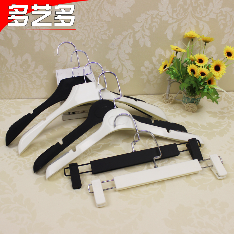 Hand paint slip hanger hanger hand paint slip pants folder bold clothing store fitting clothing display props