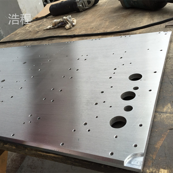 Hao cheng stainless steel plate cnc machining center machining precision parts machining line cutting