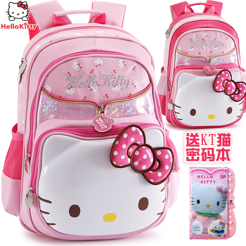 6baaf433ec Get Quotations · Hello kitty hello kitty kt cat children s backpack  shoulder bag girls primary grades