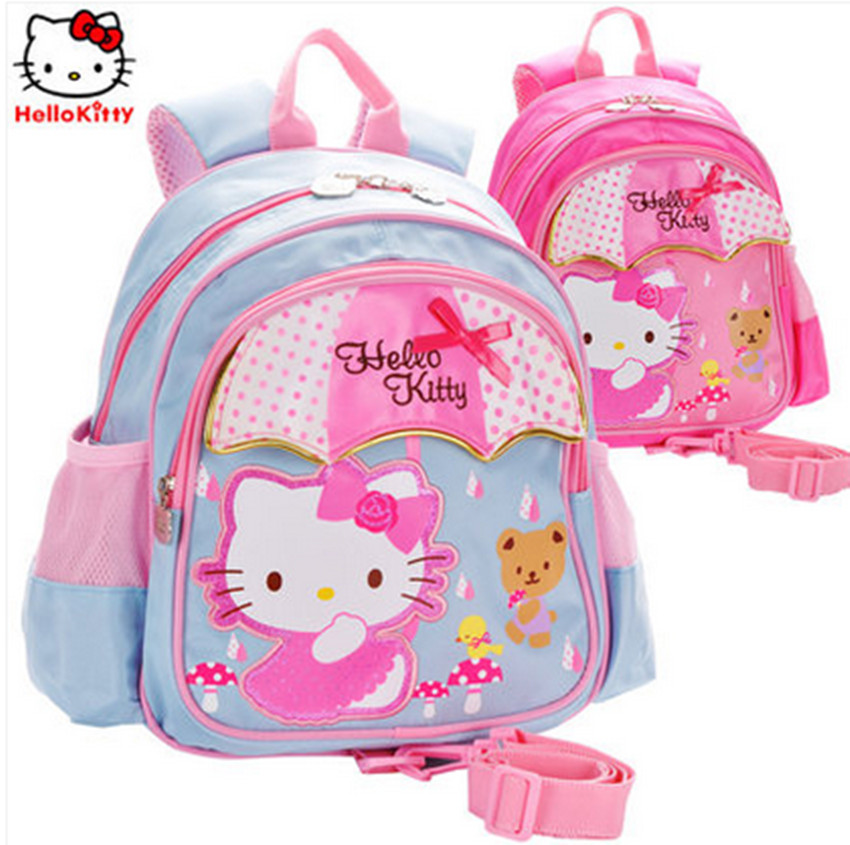 Hello kitty hello kitty students infant baby backpack schoolbag kindergarten students bag schoolbag